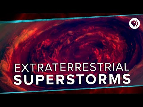 Extraterrestrial Superstorms | Space Time