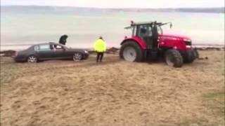 Kuma Saplanan Araba / Bentley Continental
