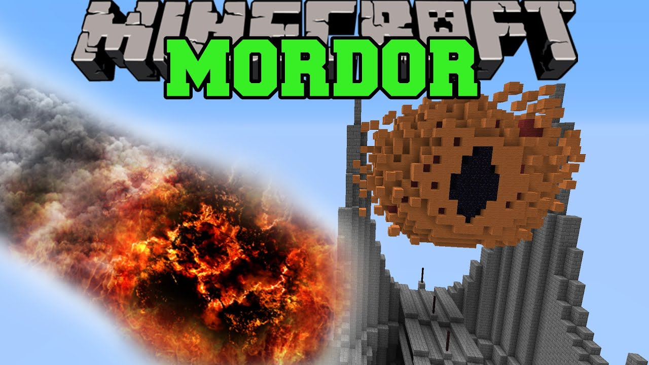 how to stop a mordor invasion minecaft lotr