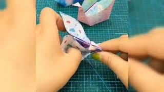 #TIP #TIKTOK 10 cách gấp giấy siêu cute