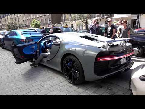 INSANE Bugatti Chiron belonging to KHK in London