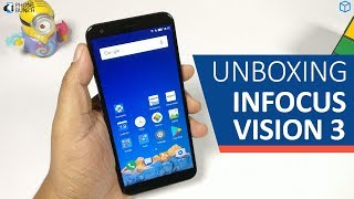 InFocus Vision 3 Unboxing (Dual Cameras / 4000 mAh Battery / Rs. 6999)