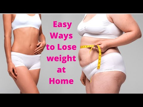 How to Lose Weight at Home – Easy Ways to Lose weight at Home