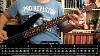BARRICADA - Lentejuelas (bass cover w/ Tabs)