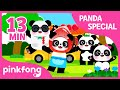 The Panda Song and more | +Compilation | Animal Songs | Pinkfong Songs for Children