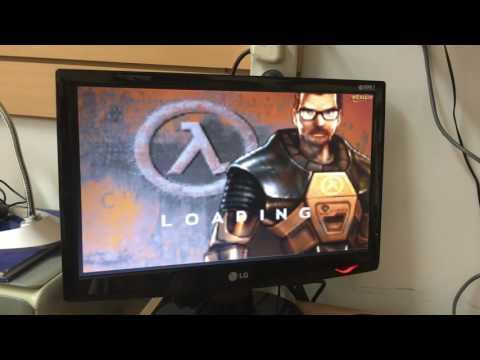 Half Life on Athlon 700 3DFX Voodoo 2 SLI