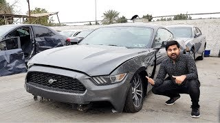 Buying A Crashed Mustang In Dubai   With Mo Vlogs Part 1