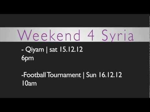 MAB North London | Weekend 4 Syria