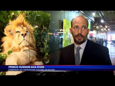 Hussain Aga Khan livre son regard sur les espèces menacées à la Galerie des Pêcheurs