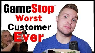 Gamestop | Worst Customer Ever! | Gamestop Horror Story
