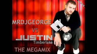 MRDJGeorge Vs Justin Timberlake - The Megamix (2011)