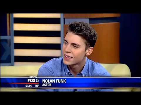 Nolan Gerard Funk 'Good Day New York' interview