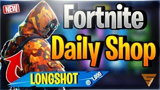 Fortnite Daily Shop *NEW* LONGSHOT SKIN (16 Dezember 2018)