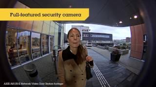 AXIS A8105-E vidéo