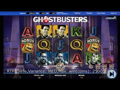 Ghostbusters Plus slot by IGT
