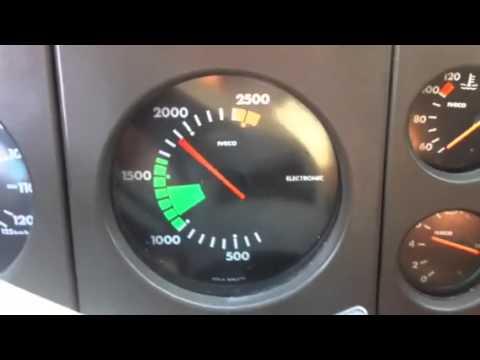 Iveco turbostar 190.36 Sound: In attesa di carico macerie