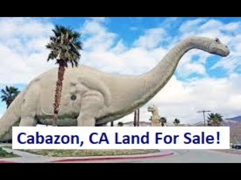 Cabazon Land For Sale - Property backs up to a mountain!