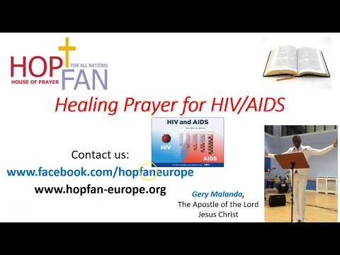 Healing Prayer for HIV AIDS