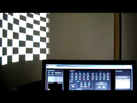 Pixelwarp Edgeblend and Geometric Correction Software for curved screens