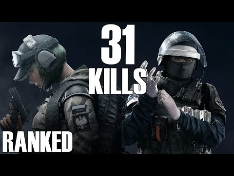 Rainbow Six Siege: Ranked - 31 Kills, 2 People