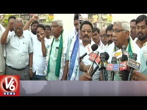 JAC Chairman Prof Kodandaram Demands Govt To Reopen Nizam Sugar Factory | V6 News