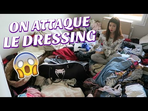 On attaque le dressing !