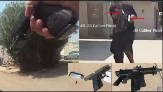 Body Cam: Foot Chase Shootout - Tucson Police Department - August 22-2020