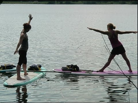 12 News Story: Paddleboard Yoga at Lake Nokomis