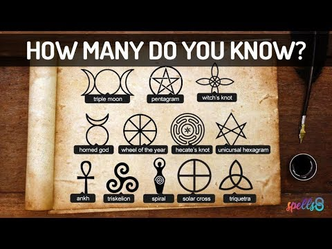 ☀✪ Pagan Symbols: The Meaning Behind Wicca, Sigils Of Power & Protection