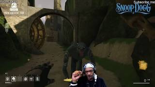 Snoop Dogg Rapping on Twitch | playing game