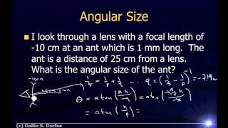 Video Physics123 Example Problems - Angular Magnification download MP3, 3GP, MP4, WEBM, AVI, FLV April 2018