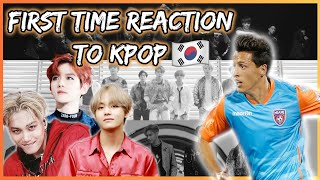 Gambar cover SOCCER PLAYER REACTS TO KPOP FOR THE FIRST TIME!! (BTS,SUPERM & EXO)