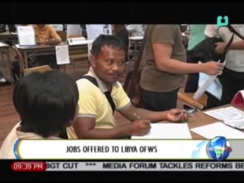 NewsLife: Jobs offered to Libya OFWs || Aug. 28, 2014