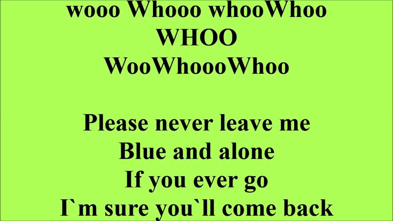 Try me oldies lyrics