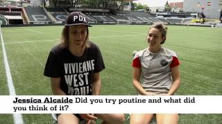 Thorns 2015 Women's World Cup Inbox with Jodie Taylor and Nadine Angerer