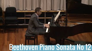 Beethoven Piano Sonata No 12 Op 26 2nd movement: Scherzo