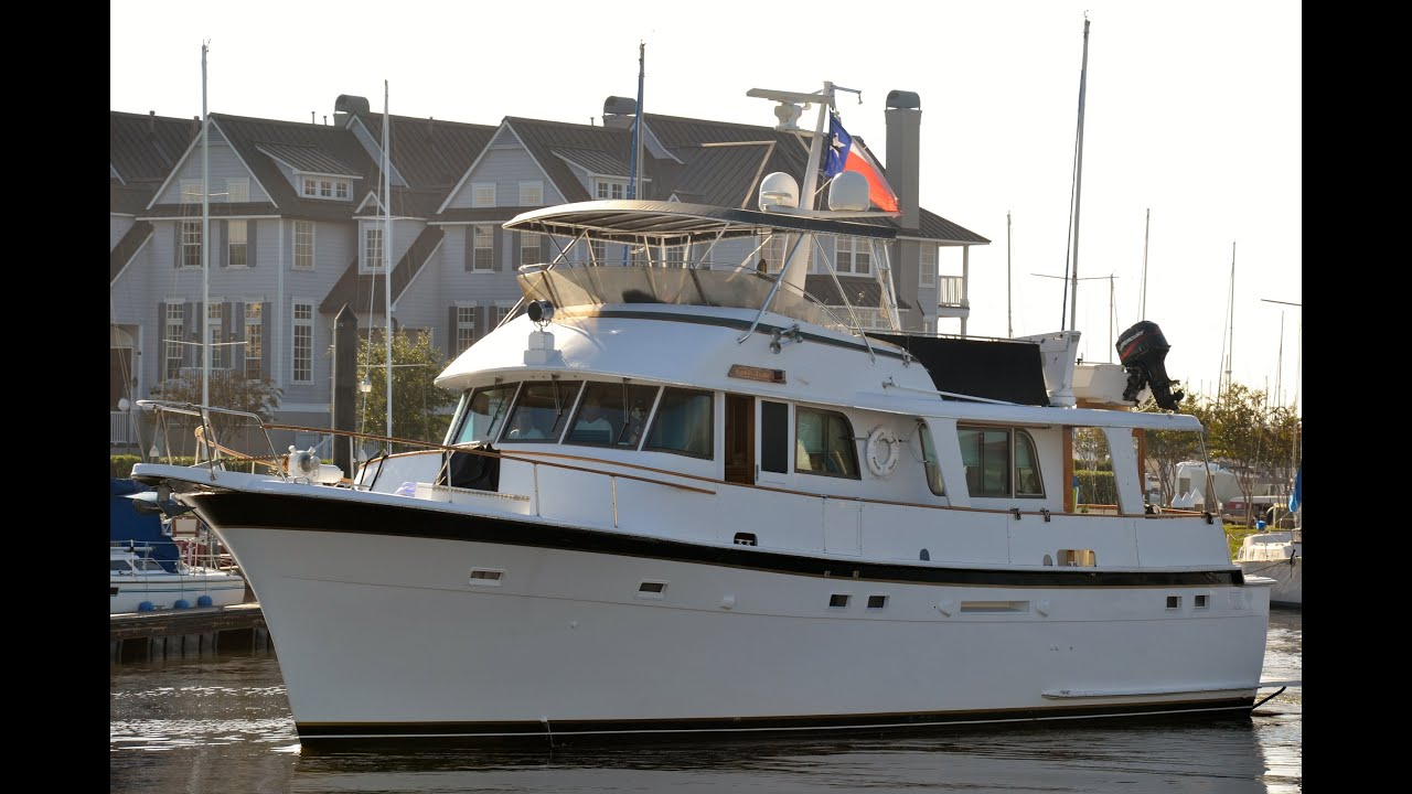1980 Hatteras 58 LRC at Jay Bettis & Co  in Seabrook, Texas