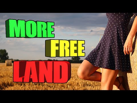10 More Places You Can Find Free Land.