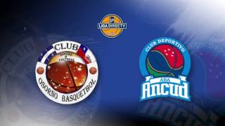 liga directv by spalding osorno bsquetbol vs aba ancud