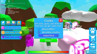 EIGHT COOL CODES IN BUBBLE GUM SIMULATOR | Roblox