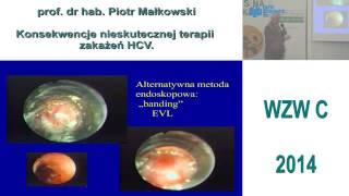 Konsekwencje nieskutecznej terapii zakażeń HCV