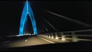 autoroute tanger casablanca le plus grand pont de l afrique maroc 2016
