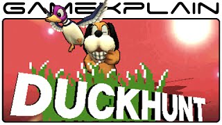 Smash Bros 3DS: Duck Hunt Tour - All Moves, Taunts, & Final Smash