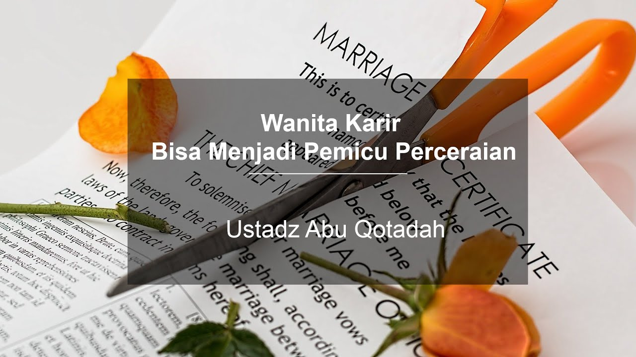 Wanita Karir Bisa Menjadi Salah Satu Pemicu Perceraian #asumsi #perceraian #mgitv