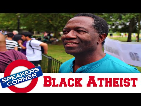 Black Atheist | God Is Fake | SPEAKERS CORNER