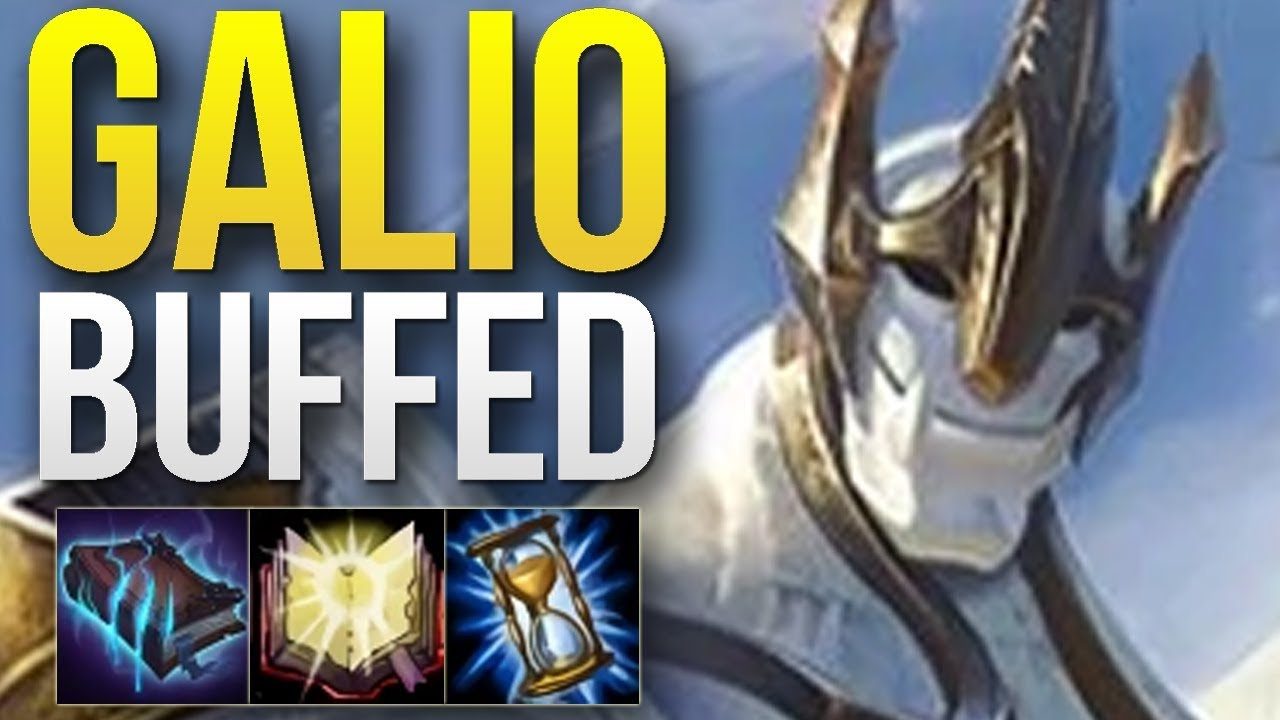Wtf Riot 100 Went Too Far With These Galio Buffs 35 Win Rate