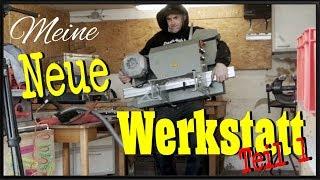 Jetz gehts los -Neue Werkstatt entsteht - Garage zur Werkstatt einrichten # 1