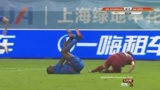 Demba Ba Horror Verletzung!