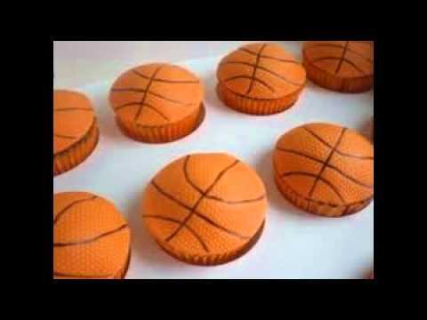 How To Make A Basketball Cake YouTube