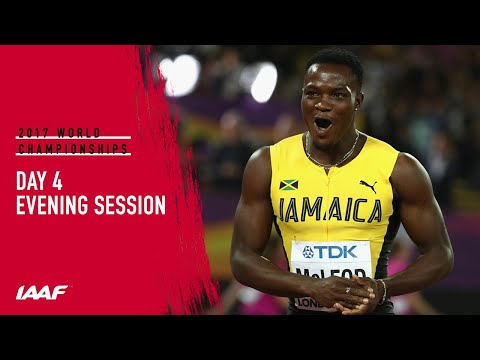 London 2017: Day 4 Evening Session
